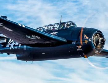 WWII Avenger Torpedo Bomber