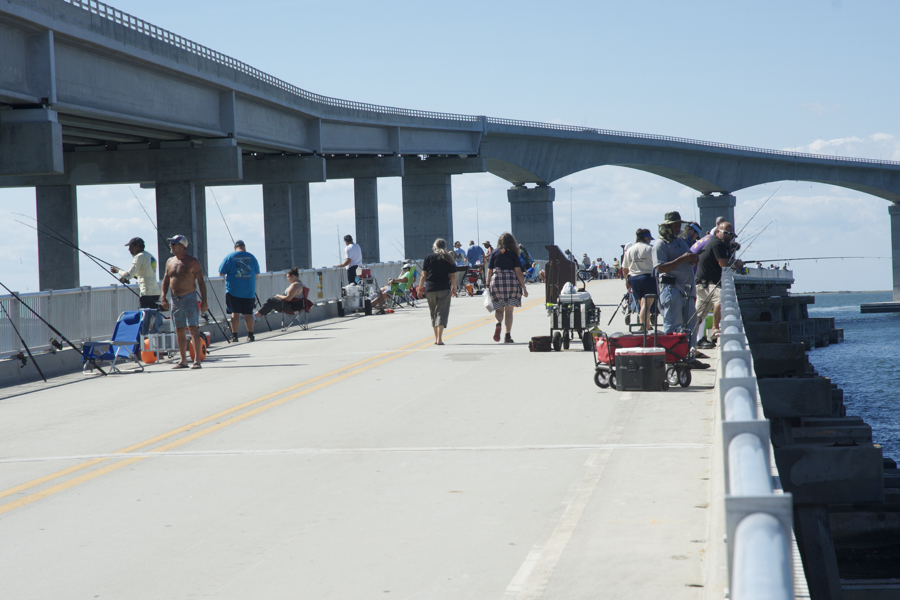 The new Bonner Bridge Fishing Pier is open and ready for anglers.