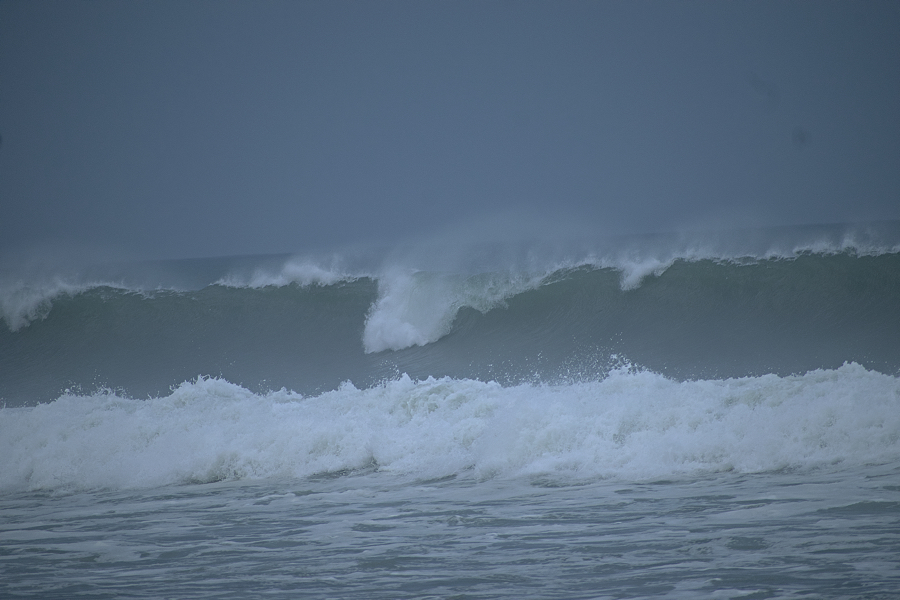 Outer Banks Surf from Hurricane Larry